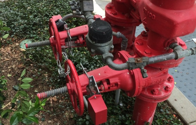 backflow valves and pipes